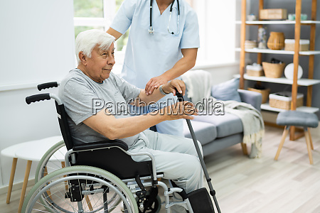 old patient home care