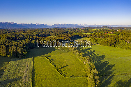 germany bavaria geretsried drone view of