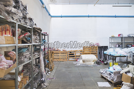 storehouse in a factory