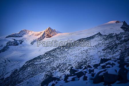 alpenglow grossvendediger tyrol austria