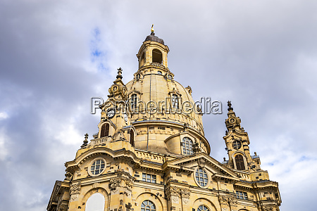 germany saxony dresden low angle view