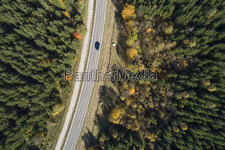 germany, , baden-wurttemberg, , drone, view, of, highway - 28759713