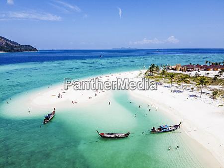 thailand satun province ko lipe aerial