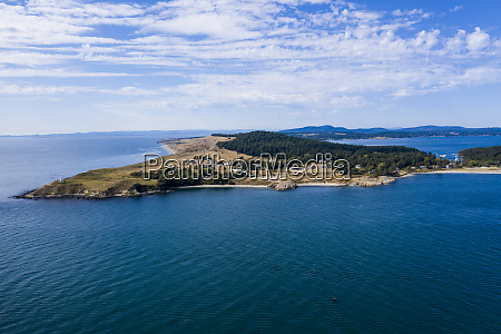 usa washington san juan island aerial