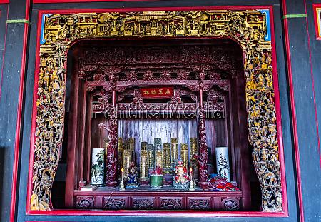 taiwan kinmen jinsha small shrine in