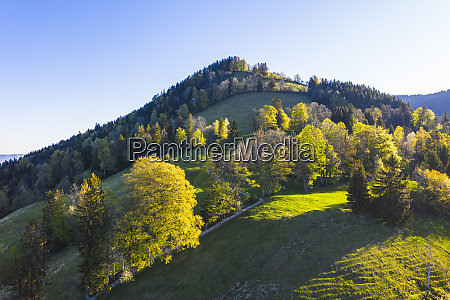 germany, , bavaria, , gaissach, , drone, view, of - 28760210