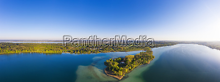 germany, , bavaria, , inning, am, ammersee, , drone - 28760205