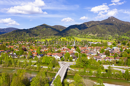 germany, , bavaria, , lenggries, , drone, view, of - 28760236