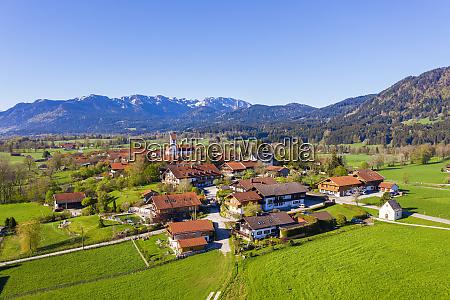 germany, , bavaria, , wackersberg, , drone, view, of - 28760234