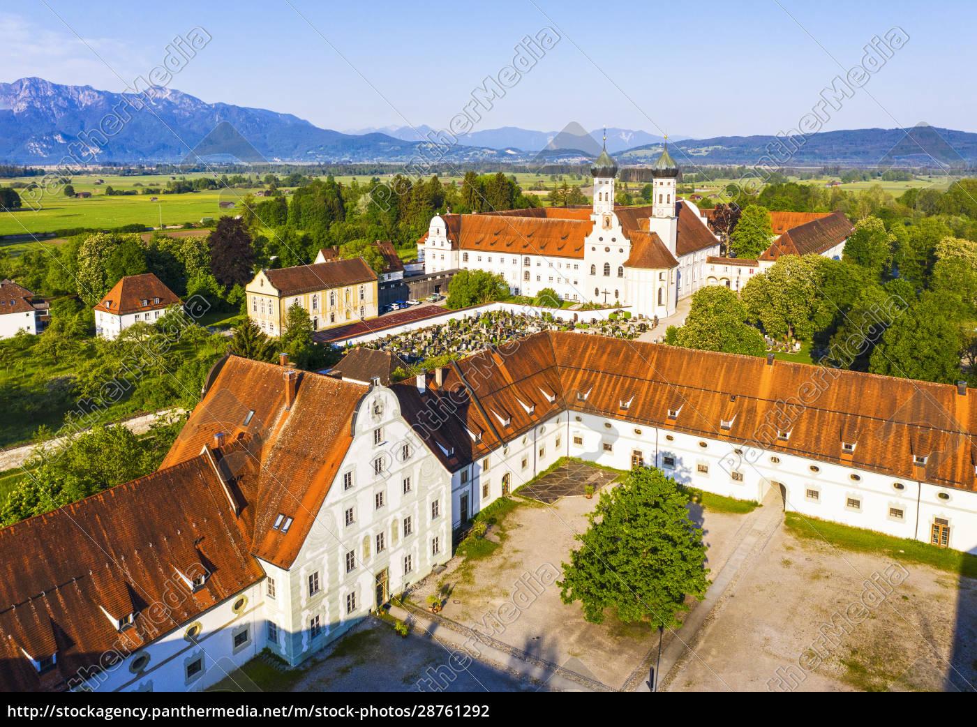 germany, , bavaria, , drone, view, of, meierhof - 28761292