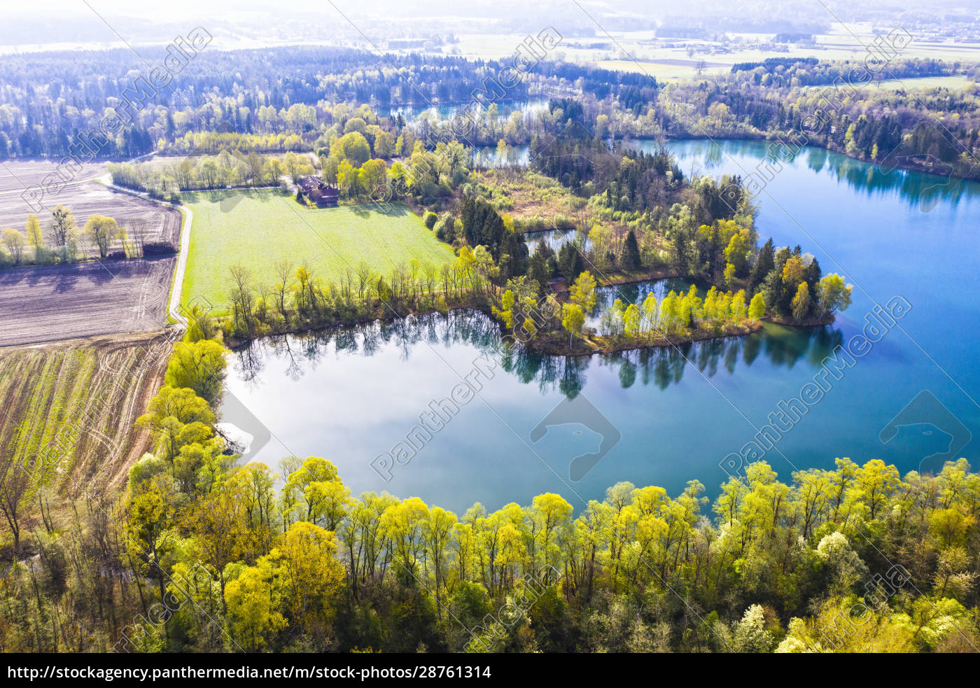 germany, , bavaria, , raubling, , drone, view, of - 28761314