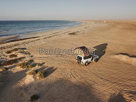 mauritania banc darguin national park aerial