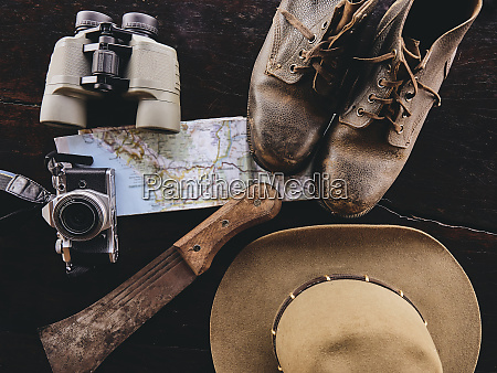 equipment for expedition