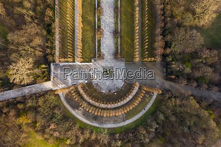 germany berlin aerial view oftreptowerpark soviet