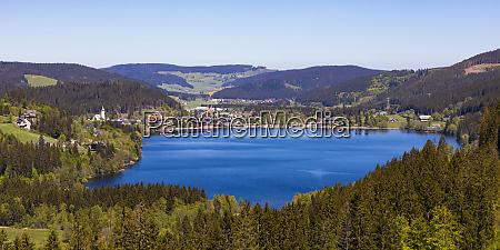 germany baden wurttemberg titisee neustadt panorama
