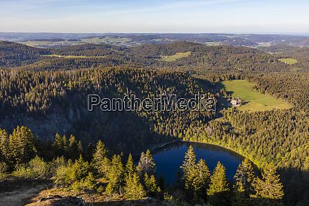 germany baden wurttemberg feldberg scenic view
