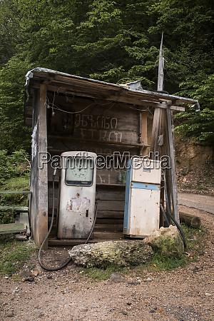 georgia old roadside gas station