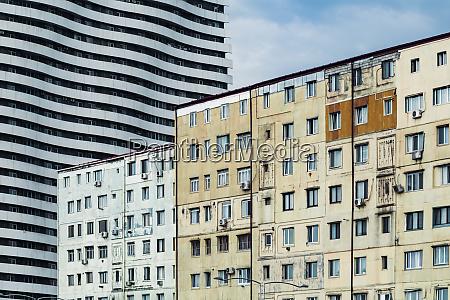 georgia adjara batumi old residential buildings