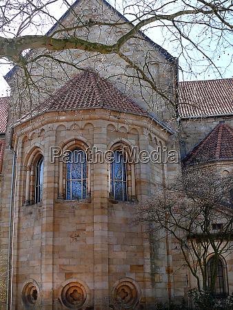 monastery church in barsinghausen region hannover