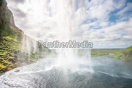seljalandsfoss waterfall iceland south coast