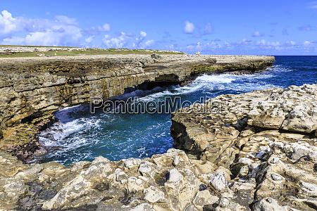 devils bridge geological limestone rock formation