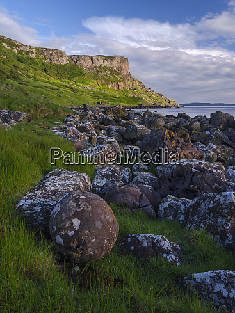 fair head county antrim ulster northern