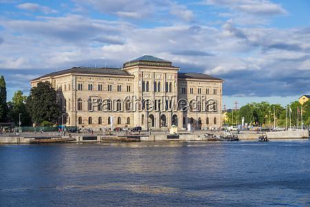 the national museum building stockholm sweden