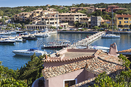 view of marina porto cervo costa