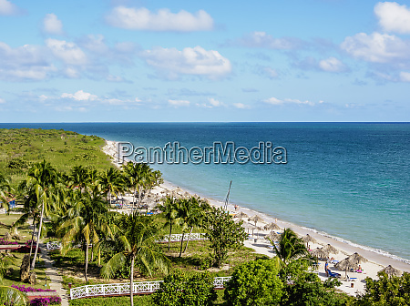 playa ancon elevated view trinidad sancti
