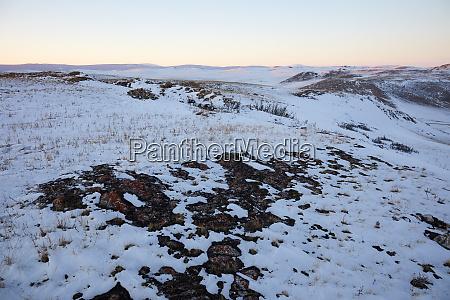 tazheran steppe along the western shores