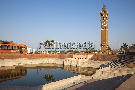 hussainabad pond and clock tower lucknow