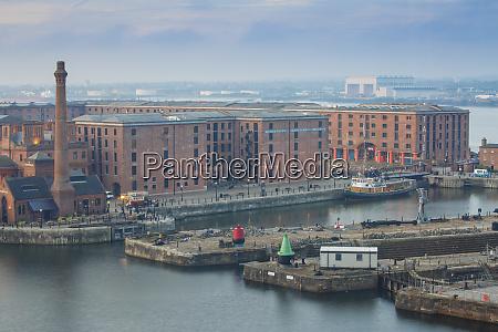 view of albert docks unesco world