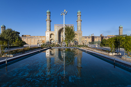 great mosque of herat afghanistan asia