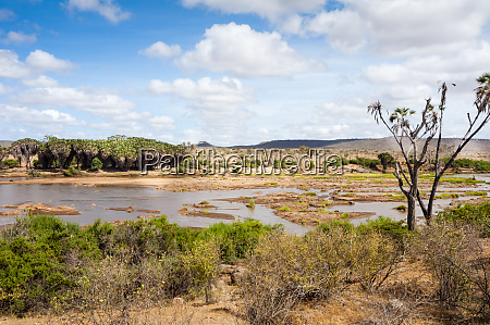 galana river tsavo east national park