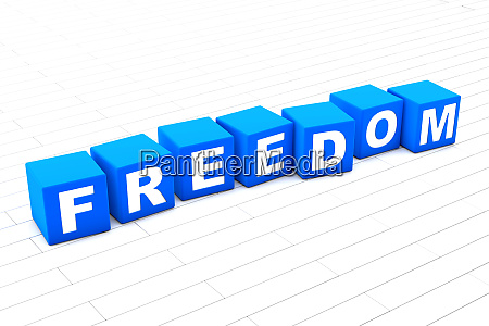 3d rendered illustration of the word