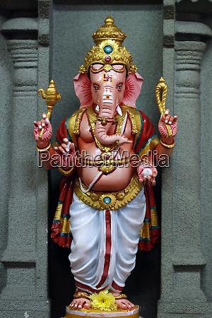 ganesha ganapati the elephant headed hindu
