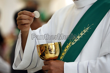 sunday mass holy communion catholic church