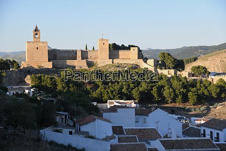alcazaba of antequera malaga province andalusia