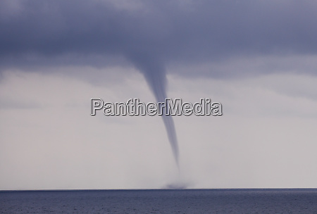 waterspout offshore sao tome sao tome