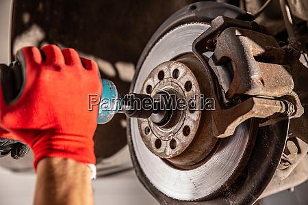 car maintenance concept