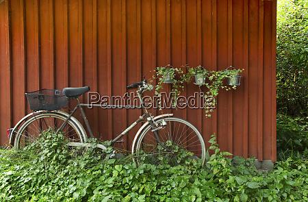 bike in the rural north east