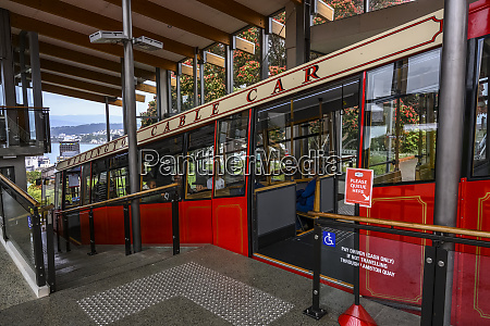 the wellington cable car is a