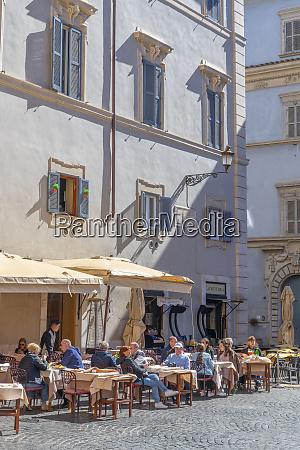 piazza santa maria trastevere rome lazio