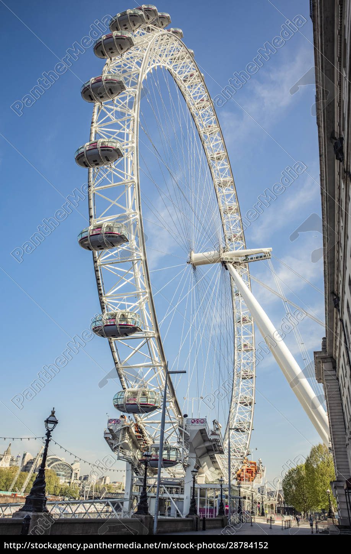 london, eye, at, morning, rush, hour - 28784152