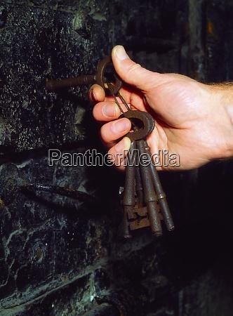 cell door in kilmainham jail ireland