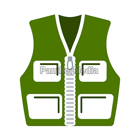 icon of hunter vest