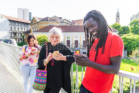 black man with dreadlocks and two