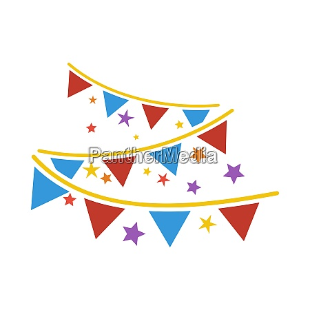 party garland icon