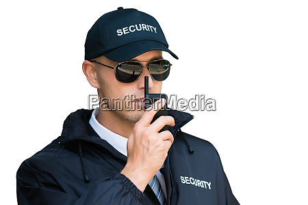 security guard man service defense