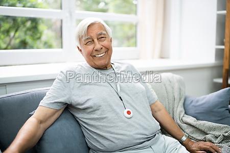 happy elderly senior